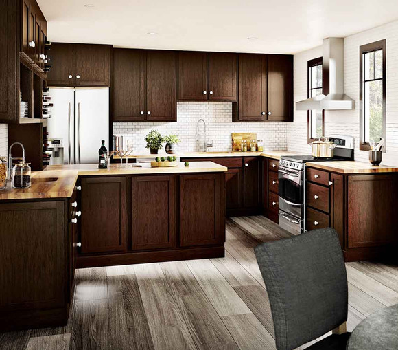 Kitchen Cabinet Quality Ratings: WoodStar Derby In Birch Twilight