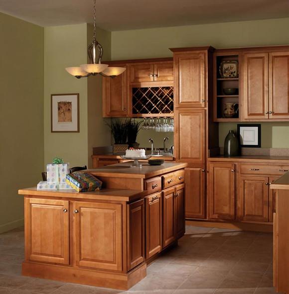 Kitchen Cabinet Discounters: Harborview Birch Mirage