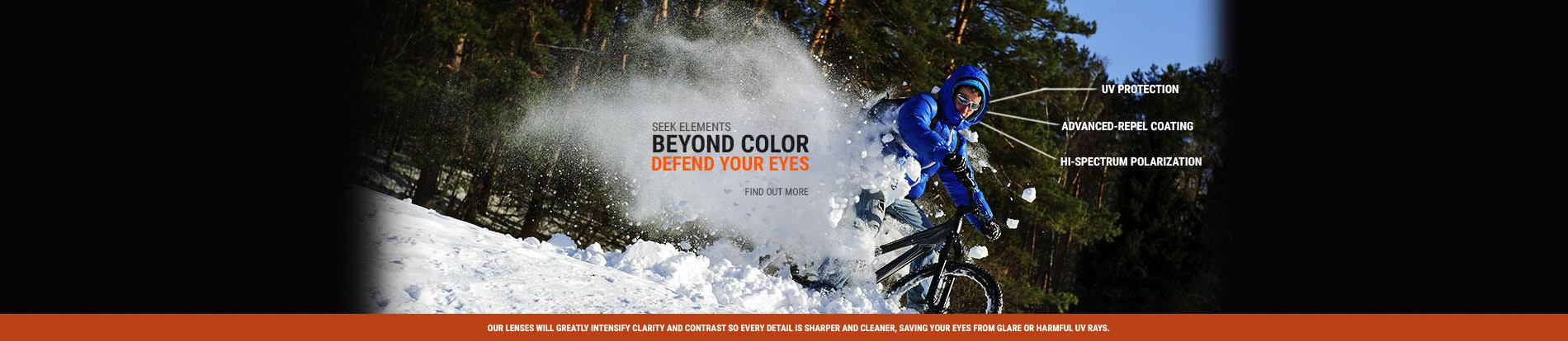 defend your eyes with seek optics lenses