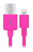 Buy Naztech Charge & Sync Lightning USB Connector for Apple Devices (Pink) with Free Shipping from www.creekle.com