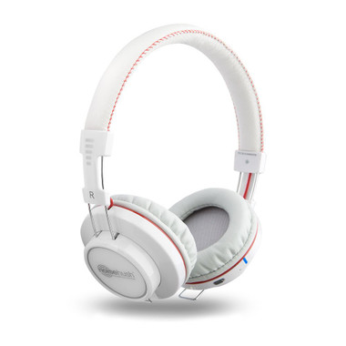 Buy Noisehush Freedom BT700 Bluetooth Stereo Headphones W/ Mic (White) with Free Shipping from www.creekle.com