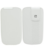 Buy Trexta Lifter Leather Pouch Case for Samsung Galaxy S4 (White) with Free Shipping from www.creekle.com