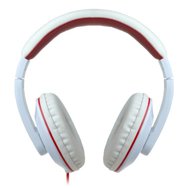 Buy Eco V30 HQ Stereo Headphones, 3.5mm Headset w/ in-line Mic, 40mm Driver (White) with Free Shipping from www.creekle.com