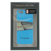Corvette Hard Case iPhone for 5 / 5s / SE - C1 Classic Light Blue