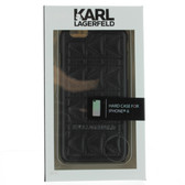 Karl Lagerfeld Quilted Hard Case iPhone 6 / 6s - Black