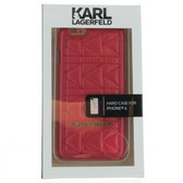 Karl Lagerfeld Quilted Hard Case iPhone 6 / 6s - Red