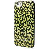Karl Lagerfeld Leopard Camouflage Hard Case for iPhone 6 / 6s - Yellow