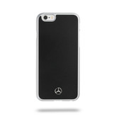 Mercedes-Benz Metallic Plate Hard Case for iPhone 6 / 6s Plus - Black
