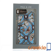 Paul & Joe Blue Butterfly Design Hard Case for iPhone 5 / 5s / SE