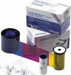 552854-510 Datacard YMCK-K Full-Color Ribbon Kit No Topcoat 500 Prints {map:134.1}
