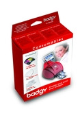 VBDG105EU Evolis Badgy Consumables Kit - 100 Prints
