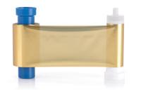 MA1000K-Gold Magicard Monochrome Gold Foil Ribbon EN3 - 1000 Prints