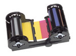NGYMCKOPRC Nisca YMCKO ribbon cartridge & cleaning rollers for the PRC-101 {map:105}