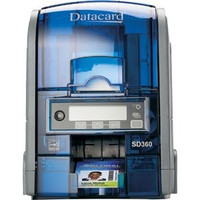 506339-002 Datacard SD360 ID Card Printer Dual-Sided with Magnetic Stripe Encoding {map:3075}