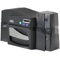 55100 Fargo DTC4500e Dual-Sided ID Card Printer {map:4199}