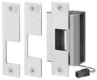 55-ABCU SDC Universal Strike for Cylindrical Locks, Mortise Locks without Deadbolts & Mortise Exit - Qty. 1