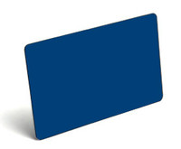 Blue Blank PVC Cards