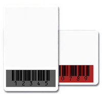 CR80.030 (30 mil) Graphic Quality 100% PVC Cards with a BLACK Barcode Mask - Qty. 1000