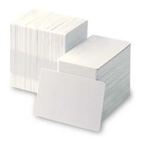 104523-111 Zebra® Premier PVC Card, Standard White CR80 size, 30 mil - Qty. 500