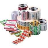 "10010045 Zebra, 4"" X 1"" DT Z-Select 4000D Paper Label, Perf, 1"" Core, 2,340 Per Roll, Case of 6"