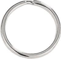 """6920-1025 Round-Edge Split Ring 1 1/16"""" Nickel-Plated Steel"""
