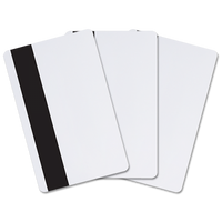 FPISO-SSSCVB-0000 Indala FlexPass ISO 125 kHz Imageable Proximity Card (Vertical Slot Punch) with  Magstripe - Qty. 100