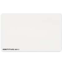 4010SPV Identive ISO Thin PVC Proximity Card with Vertical Slot Punch - Qty. 100