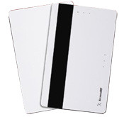 9551M1SPV Allegion™  (aptiQ™) ISO Composite MIFARE® Card with Magnetic Stripe & Vertical Slot 1K byte/8k Bit - Qty. 100