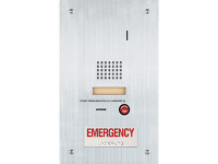IS-SS-RA Aiphone Flush Mount Audio Door Station - Emergency Call Button