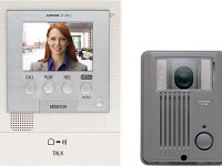 JFS-2AEDF Aiphone Hands-free Color Video Enhanced System - Flush Mount Vandal Resistant - Qty. 1
