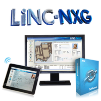 LiNC-NXG-L PCSC Software 20,000 active cardholders, 64 reader capacity