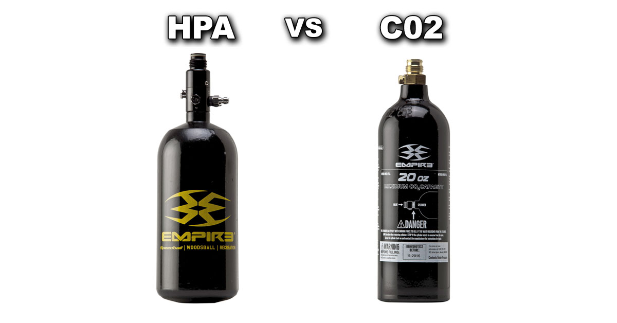 Paintball Co2 Tank Sizes Many players buying their