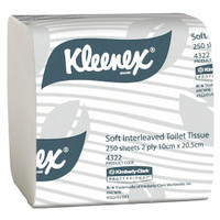 Kimberly Clark Kleenex® Interleaved Toilet Tissue 2Ply 36 Packs (4322) Kimberly Clark Professional