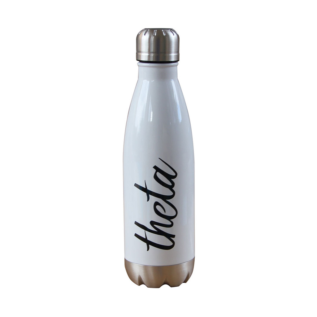 Kappa Alpha Theta Insulated White Water Bottle