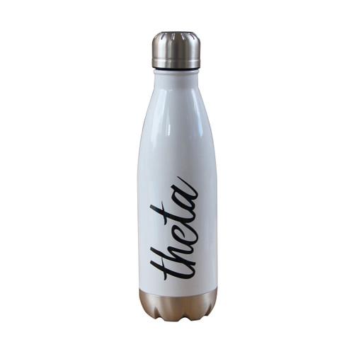 Kappa Alpha Theta Insulated White Water Bottle