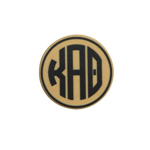 Kappa Alpha Theta Phone Grip in Gold Top