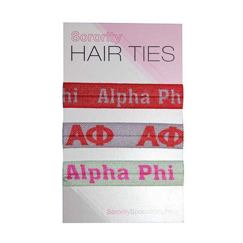 Alpha Phi Hair Ties