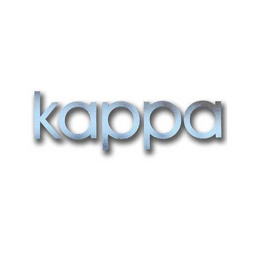 Kappa Kappa Gamma Sticker in Silver