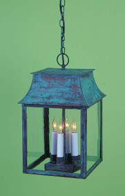 Federalist Mansard Hanging Lantern Small