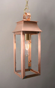 Federalist Mansard Single Light Hanging Lantern