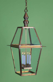 Colonial Ashley House Hanging Lantern Large