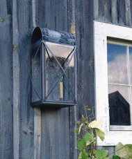 Paul Revere Crossbar Wall Mount Lantern Large