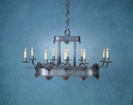 Chittenden Oval Chandelier - 10 Light