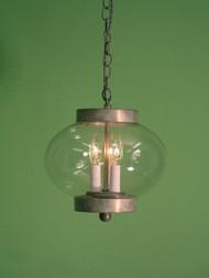 "Dorset Onion Pendant Light 12"""