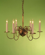 Greek Revival Shelburne - Cherries & Leaves - Small