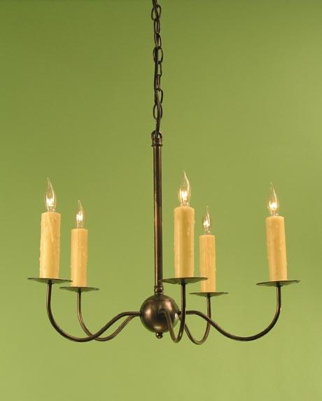 Haverford Chandelier - 5 Light