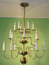 Kent Hollow 3 Tier Chandelier
