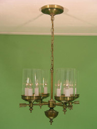 Berkshire Four Arm Chandelier Large