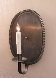 Shaker Primitive Oval Sconce