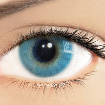 Solotica Hidrocor Azul Blue - One Box Two Yearly Lenses
